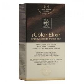 Apivita My Color Elixir Βαφή Μαλλιών 5.4 Καστανό Ανοιχτό Χάλκινο