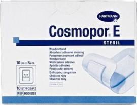 Hartmann Cosmopor E Γάζες Αυτοκόλλητες (10 X 8 Cm) 10Τεμ