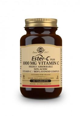 Solgar Ester-C plus 1000 mg Vitamin C/Bioflavonoid Complex 30 tabs