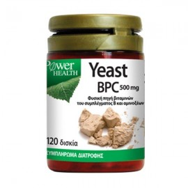Power Health Power Yeast BPC 500 mg 120 tabs