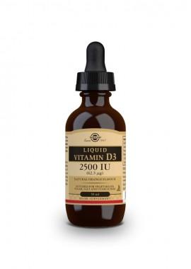 Solgar Vitamin D3 Liquid 2500 IU 59 ml