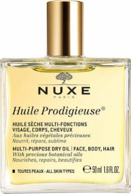 Nuxe Huile Prodigieuse Multi Purpose Dry Oil Face Body Hair 50 ml