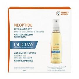 Ducray Neoptide Women Lotion, Φιαλίδια, Καταπολέμηση Γυναικείας Τριχόπτωσης 3x30ml