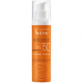 Avene Soins Solaires Fluide Teintee SPF50+, Αντηλιακή Προσώπου για Κανονικό/Μικτό & Λιπαρό Δέρμα με Χρώμα 50ml