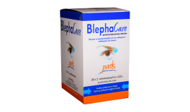 BLEPHACARE pads Αποστειρωμένες Γάζες 30x2τμχ