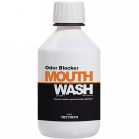 Frezyderm Odor Blocker Mouthwash Στοματικό Διάλυμα - Μπλοκάρει τη Δυσάρεστη Αναπνοή 250ml