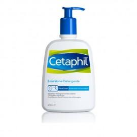 Cetaphil Emulsione Detergente Απαλό Καθαριστικό Δέρματος 460ml