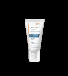 Ducray Melascreen -15% UV Light Cream SPF50+ Λεπτόρρευστη Αντηλιακή Κρέμα Προσώπου για Κανονικό Δέρμα με Δυσχρωμίες, 40ml