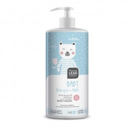 Pharmalead Baby Shampoo & Bath - Απαλό σαμπουάν και αφρόλουτρο για την ευαίσθητη βρεφικής επιδερμίδας, 1lt