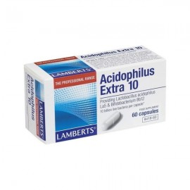 Lamberts Acidophilus Extra 10 Προβιοτικό Σκεύασμα 60 Capsules