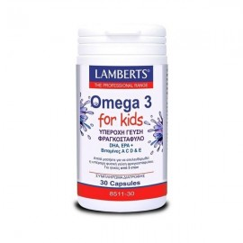 Lamberts Omega 3 for Kids Berry Bursts 30 caps