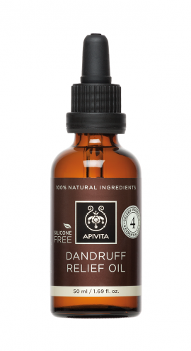 Apivita Dandruff Relief Oil For Dry & Oily 50ml