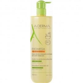 A-Derma Exomega Control Emollient Shower Oil 750ml