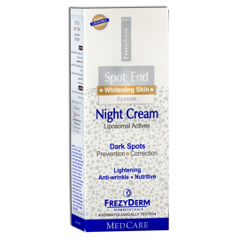 Frezyderm Spot End Night Cream Λευκαντική κρέμα Νύχτας, 50ml