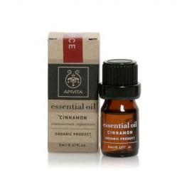 Apivita Essential oil Βιολογικό αιθέριο έλαιο Κανέλλα 5 ml
