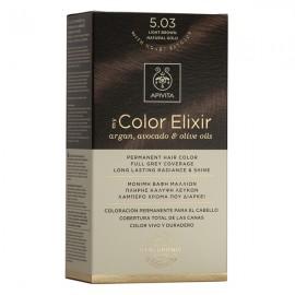 Apivita My Color Elixir 5.03 Καστανό Ανοιχτό Φυσικο μελί