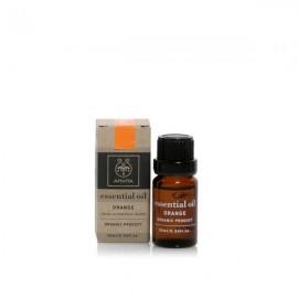 Apivita Essential oil Βιολογικό αιθέριο έλαιο Πορτοκάλι 10 ml