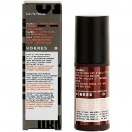 Korres Mens Cream Σφένδαμος Ανδρική αντιρυτιδική κρέμα για πρόσωπο & μάτια 50 ml
