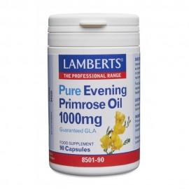 Lamberts Pure Evening Primrose Oil 1000mg Συμπλήρωμα με Γ-Λινολεϊκό οξύ (GLA) για Γυναίκες στην Εμμηνόπαυση 90 caps