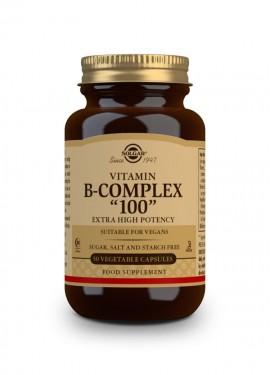Solgar B-Complex 100, 50 Vegetable Capsules