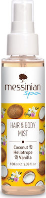 Messinian Spa Hair & Body Mist Καρύδα, Ηλιοτρόπιο & Βανίλια 100ml