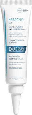 Ducray Keracnyl PP Cream Καταπραϋντική Κρέμα κατά των Ατελειών, 30ml