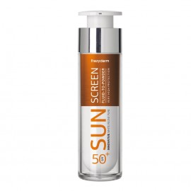 Frezyderm Sun Screen Fluid to Powder Vitamin D Like SPF50+, Αντηλιακή Κρέμα Προσώπου 50ml