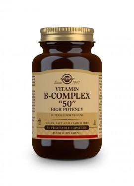 Solgar Vitamin B-50 Complex 50 veg. caps