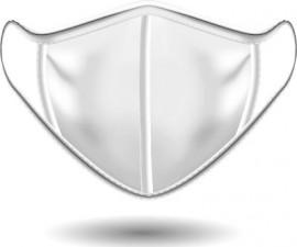 Power Health Υφασμάτινη Μάσκα Λευκή 1τμχ