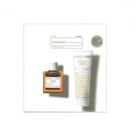 Korres Oceanic Amber Eau De Toilette 50 ml & Aftershave Balm 125 ml