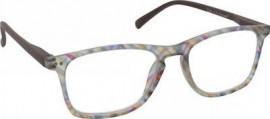 Eyelead Γυαλιά Διαβάσματος Unisex Πολύχρωμο Καφέ, με Κοκκάλινο Σκελετό E209
