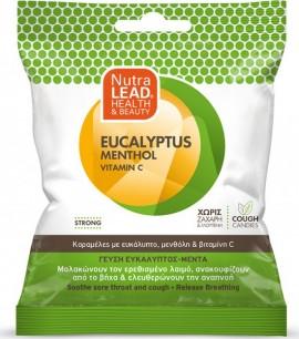 PharmaLead Καραμέλες για το λαιμό & το βήχα – Γεύση Ευκάλυπτος & Μέντα 40gr