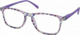 Eyelead Γυαλιά Διαβάσματος Unisex Πολύχρωμο Μωβ, με Κοκκάλινο Σκελετό E210