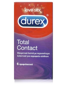 DUREX TOTAL CONTACT 6 ΤΕΜΑΧΙΑ