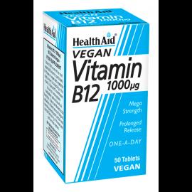 Health Aid Vitamin B12 1000 µg vegan 50 tabs