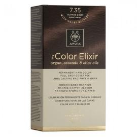 Apivita My Color Elixir Βαφή Μαλλιών 7.35 Ξανθό Μελί Μαονί