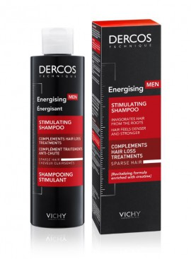 Vichy Dercos Men Energising Stimulating Shampoo 200ml