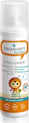 Pharmasept X-Lice Cologne - Λοσιόν Για Τις Ψείρες Χωρίς Άρωμα, 100ml