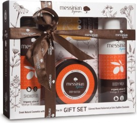 Messinian Spa Messinian Spa Shower Gel Orange 300ml & Body Milk 300ml & Face Body Scrub 250