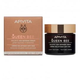Apivita Queen Bee, Kρέμα Ημέρας Ολιστικής Αντιγήρανσης Ελαφριάς Υφής, 50ml