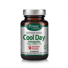 Power of Nature Platinum Range Cool Day Ashwagandha 30 tabs