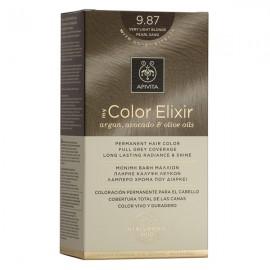 Apivita My Color Elixir Βαφή Μαλλιών 9.87 Ξανθό Πολύ Ανοιχτό Περλέ Μπεζ