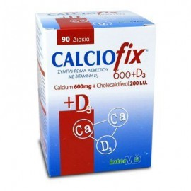 Intermed Calciofix 600 mg & D3 90 tabs
