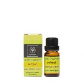 Apivita Home fragrance Refresh μίγμα αιθερίων ελαίων 10 ml