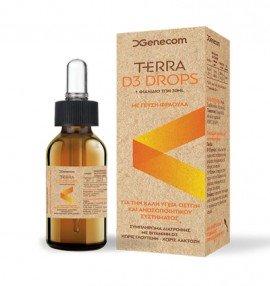Genecom Terra D3 Drops 30 ml