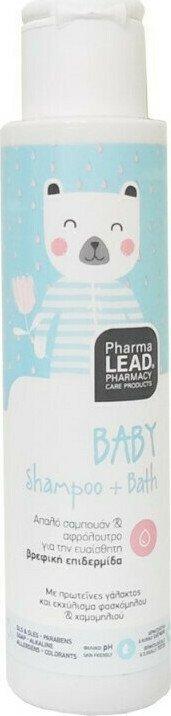 Pharmalead Baby Shampoo + Bath Βρεφικό Απαλό Σαμπουάν και Αφρόλουτρο 100ml.