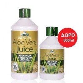 Optima Aloe Vera Juice 1lt & Δώρο 500ml