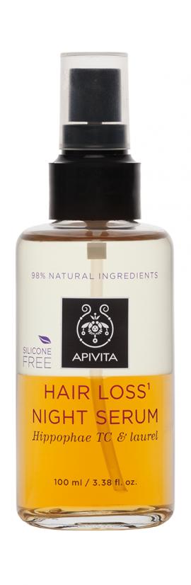 Apivita Hair Loss Night Serum με Hippophae TC & Δάφνη 100ml