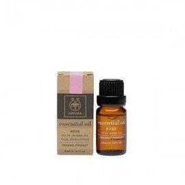Apivita Essential oil Βιολογικό αιθέριο έλαιο Τριαντάφυλλο 5% σε jojoba 10 ml