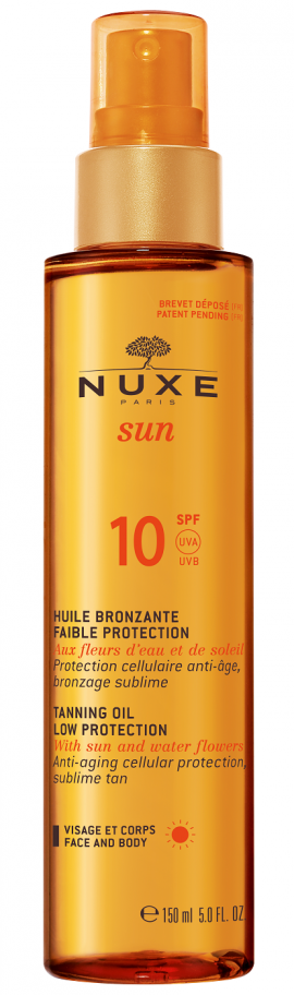 Nuxe Sun Huile Bronzante SPF10 150 ml